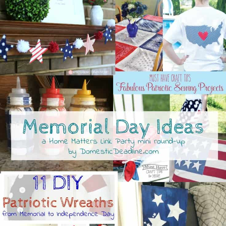 Memerial day ideas hmlp square domestic deadline for Memorial day weekend ideas