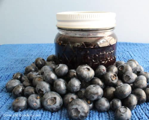 Join the Family Favorite Recipe Blog Hop and check out some old and new recipes including my family inspired Pineapple Blueberry Preserves www.domesticdeadline.com
