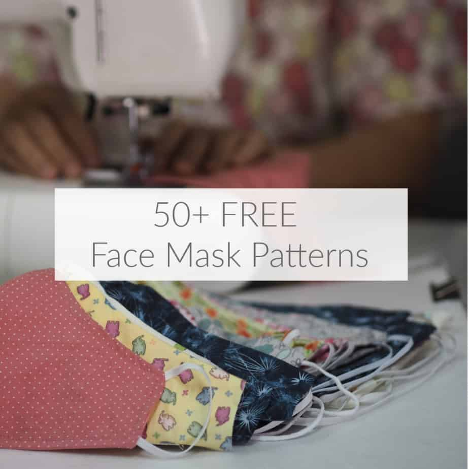 Over 50 Free Face Mask Patterns Domestic Deadline